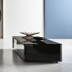 5c2c80e66a51 Ghotam smoked Glass Coffee table with 1 Drawer - Klarity - Glass Furniture