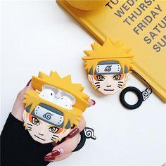 For anime lovers, naruto fans and of course Airpod owners! Make your case more stylish! Naruto Boys, Naruto Uzumaki, Anime Naruto, Sasunaru, Itachi, Otaku, Airpods Apple, Accessoires Iphone, Earphone Case