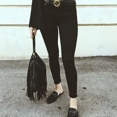 Different Styles, Black Jeans, Pants, Fashion, Trouser Pants, Moda, Fashion Styles, Black Denim Jeans, Women's Pants