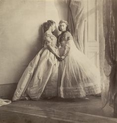Grace Maude and Clementina Maude Clementina, Lady Hawarden