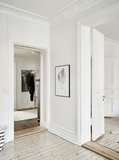 White and Black interior