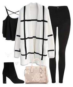 """Untitled #492"" by bellaxoxx on Polyvore featuring Topshop, Chicwish, Yves Saint Laurent and Kate Spade"