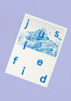 Justified Risograph Print - William Whiting