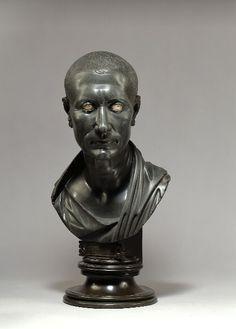 Bust of Cesar, Roman 100 BCE