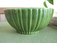 Green Haeger Planter Florist Ware 4020 Made in the by LazyYVintage