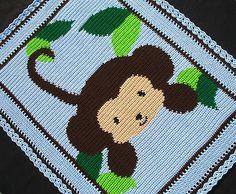 Patrones-de-ganchillo-Baby-Selva-Mono-patron-afgano