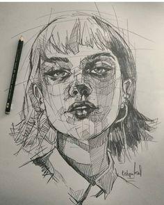 "3,531 Likes, 10 Comments - A R T (@modernartt) on Instagram: ""@modernartt . . Art by @estipikal #art #drawing #draw #karakalem #çizim"""
