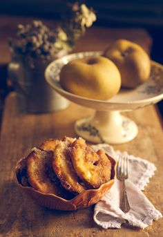 Receta 1010: Buñuelos de manzana » 1080 Fotos de cocina