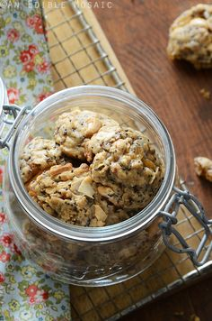 The Ultimate Granola Cookies | An Edible Mosaic