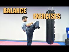 Balance Exercises for Kicking!! (Taekwondo/MMA/Karate) - YouTube