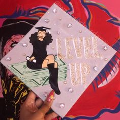 Disney Graduation Cap, Funny Graduation Caps, Graduation Cap Toppers, Graduation Cap Designs, Graduation Cap Decoration, Graduation Diy, Grad Cap, Graduation Pictures, Graduation Photoshoot