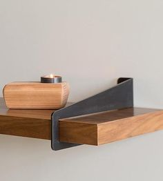 Wall Stirrup Shelf Brackets