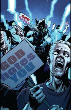 God hates you (Thor - God of Thunder #12, Nic Klein)