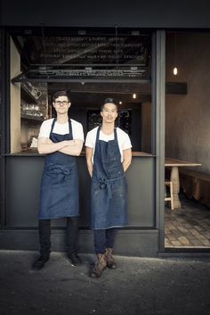 Farmhouse by Nicholas Gurney - Thisispaper Magazine - denim. aprons.