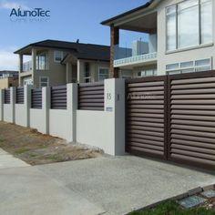 House Entrance Gate Design - Home Designs Gate Wall Design, House Fence Design, Home Door Design, Front Gate Design, Main Entrance Door Design, Modern Entrance, Entrance Gates, House Entrance, Gate Designs Modern