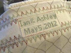 Swedish Weave afghan. Sandra's Stitches
