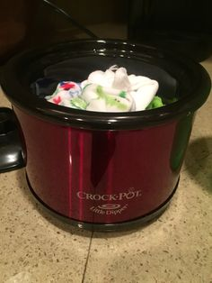 Breastfeeding hack: mini crockpot with washcloths. Warm up washcloths and place on breasts before feeding or pumping. Helps with letdown. I added a couple drops of lavender EO to help me relax.  Also can be used in labor & delivery room to sooth mama's aching back. The lavender EO will make the room smell amazing  -v