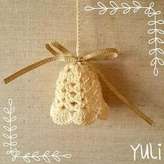 Crochet Bell Tutorial ~ free pattern