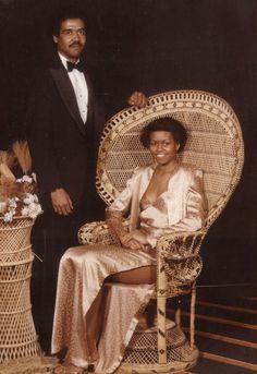 Michele Obama's Prom Pic