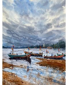 """Son Do on Instagram: """"More from Thailand a few years back #watercolourweekly #watercolorworld #watercolorwork #watercolortechnique #watercolortechniques…"""""""