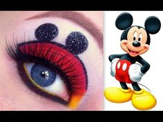 Mickey Mouse Makeup Tutorial. Youtube channel: http://full.sc/SK3bIA