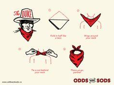 How To Wear A Bandana The Duke