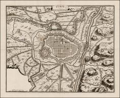 Map of Turin  Map Maker: Nicolas De Fer  Place / Date: Paris / 1706