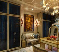 Interior design by L