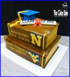 The NORTHPORT CLASS OF 2012 - HELLO WEST VIRGINIA U Cake