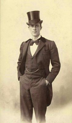 Ideas for vintage photography victorian guys Victorian Gentleman, Vintage Gentleman, Victorian Men, Victorian Photos, Antique Photos, Vintage Pictures, Vintage Photographs, Old Pictures, Victorian Fashion