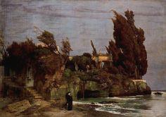 Arnold Bocklin - Philosopher's landscape