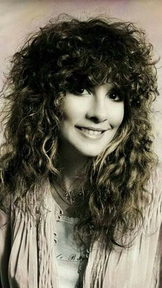 Stevie & her wild locks.