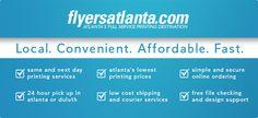 Flyersatlanta.com - Atlanta's premier full service printing destination.