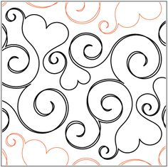 """Smitten © 2014 Patricia E. Ritter & Valerie SmithA single row is 10"""" wide – printed with one row – 144"""" long A single heart measures approximately 3.75""""W x 3""""H* This design is available in both paper and digital. Please select your preference below. NOTE: All digital designs include the following conversions: CQP, DXF, HQF, IQP, MQR, PAT, QLI, SSD, TXT, WMF and 4QB or PLT. Most designs also include a DWF, GIF and PDF. This pattern was converted by Digitech."""