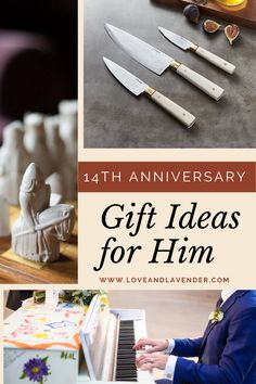 Celebrate your 14th anniversary with an incredible ivory-inspired gift for your husband!