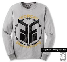 $29.99 #ForcaNacional Longsleeve Tee by Força Clothing Co.