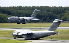 C-17 Globemaster III at McGuire Air Force Base