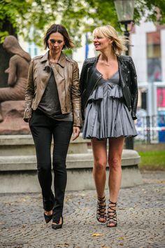 leather jackets I #streetstyle I #point41