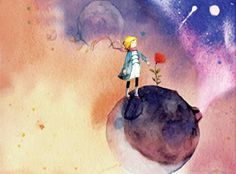 """[The Little Prince] """"Sometimes it was just beautiful, even when life is such a turn"""""""