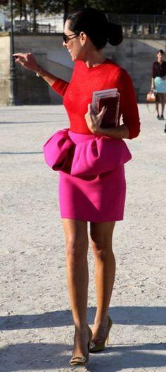 skirt ideas..... a little longer and a little less rouged