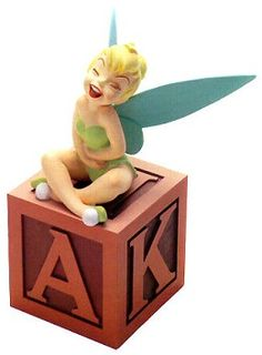 WDCC Disney Classics Peter Pan Tinker Bell A Firefly A Pixie Amazing # #Art Anniversary Backstamp: A special gold message '40th Anniversary' was added to the bacstamp of sculptures crafted in 1993.Edition Limit: Originally announced at 10,000, changed to 12,500. Tinker Bell