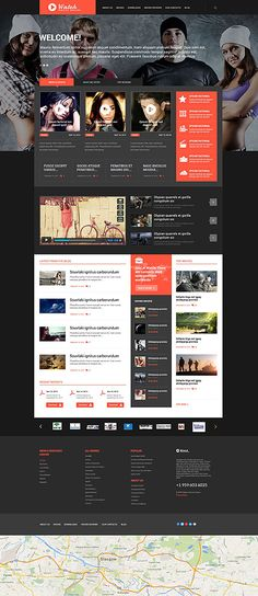 Entertainment Most Popular website inspirations at your coffee break? Browse for more WordPress #templates! // Regular price: $75 // Sources available: .PSD, .PHP, This theme is widgetized #Entertainment #Most Popular #WordPress