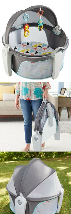 Perfect for on-the-go travel with kids! Fisher price on the go baby dome (aff)