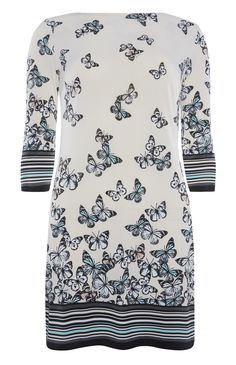 Primark - Butterfly Print Slinky Tunic