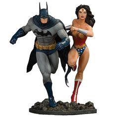 Bruce Wayne AKA Batman & Princess Diana of Themyscira AKA Wonder Woman (DC Comics)