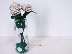 Dica de objeto decorativo: como fazer um vaso de vidro decorado com contact - Blog Dona Engenhosa