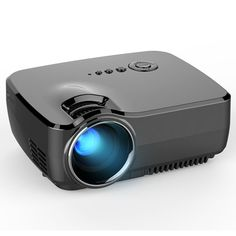 GP70 LCD Portable LED Projector 1080P Full HD 1200 Lumens HDMI USB FHD SD Home Theater Beamer