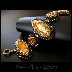 Amazon Warrior - Bracelet by Triz Designs, via Flickr  #beadwork