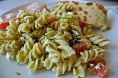Koude pastasalade met pesto en fetakaas: Miss Milla at Home