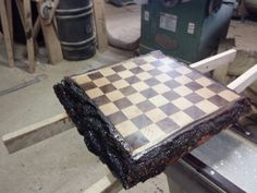 Wooden chees table